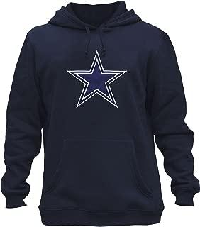 BengKuiDun Mens Athletic Cowboys Embroidery Cotton Sweatshirt Pullover Hoodie