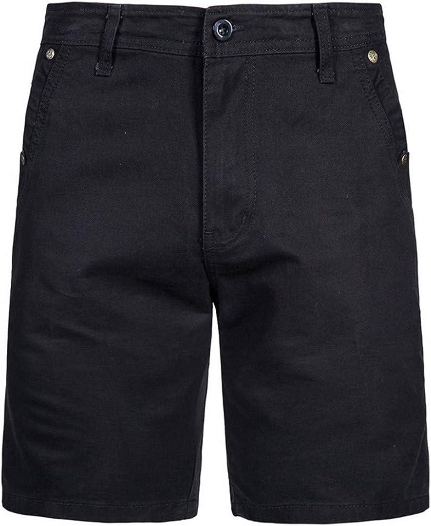 Teinaongsy Short en Coton Simple Urbain pour Homme Pantalon Court Short d'été Pantalon Menfive Cbd052 Khaki
