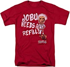 Major League Movie Jobu Needs a Refill T Shirt & Stickers