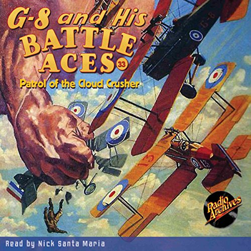 G-8 and His Battle Aces #33: Patrol of the Cloud Crusher copertina