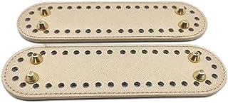 Boner Base inférieure en Cuir avec Trous pré-percés pour Sac à Main Sac à Main en Cuir de Remplacement Sac à bandoulière B...