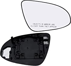 New Replacement Passenger Side Mirror Heated Glass W Backing Compatible With 2013-2018 Toyota Avalon 2012-2017 Camry Sold By Rugged TUFF
