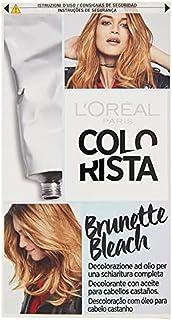 L'Oréal Paris Colorista Brunette Bleach Decolorante ad Olio per una Schiaritura Completa dei Capelli Castani