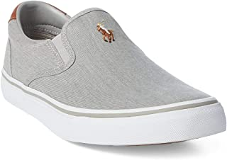 RALPH LAUREN Thompson, Men's Shoes, Soft Grey, 9 UK (43 EU)