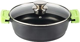 Vier 802-32 Cacerola, Negro, 32 cm