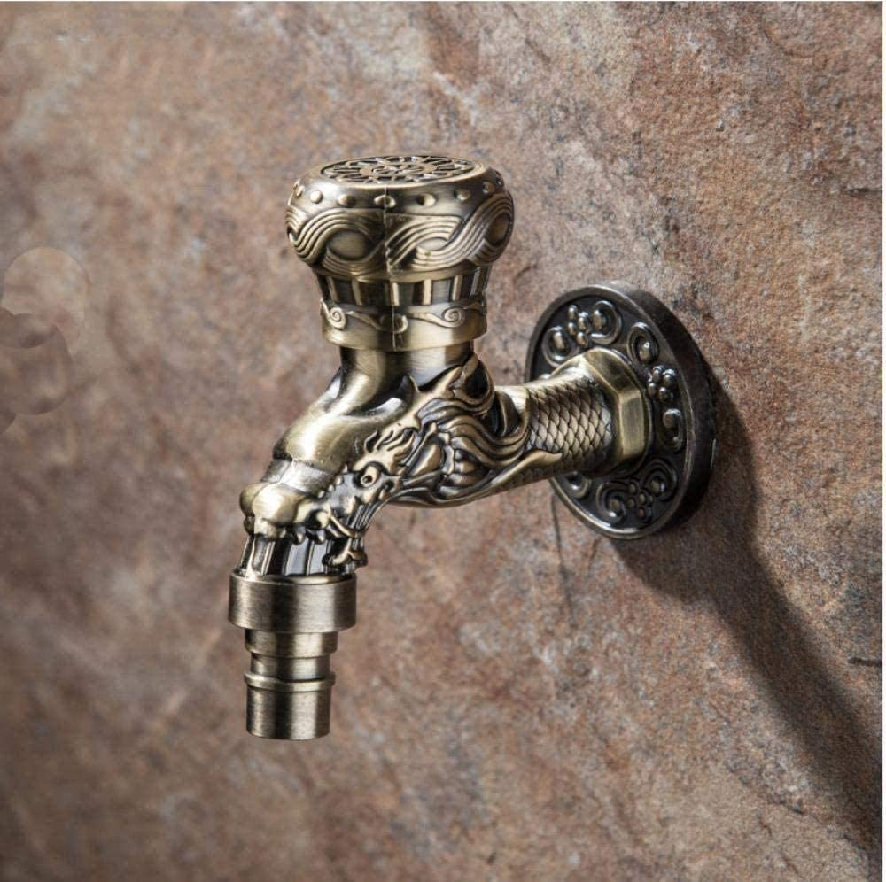 Outdoor Faucet kit Wall-Moun Ranking integrated 1st Denver Mall place Carved Garden