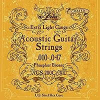 【1セット】ARIA/アリア AGS-200C/XL [10-47] アコースティックギター用 コーティング弦