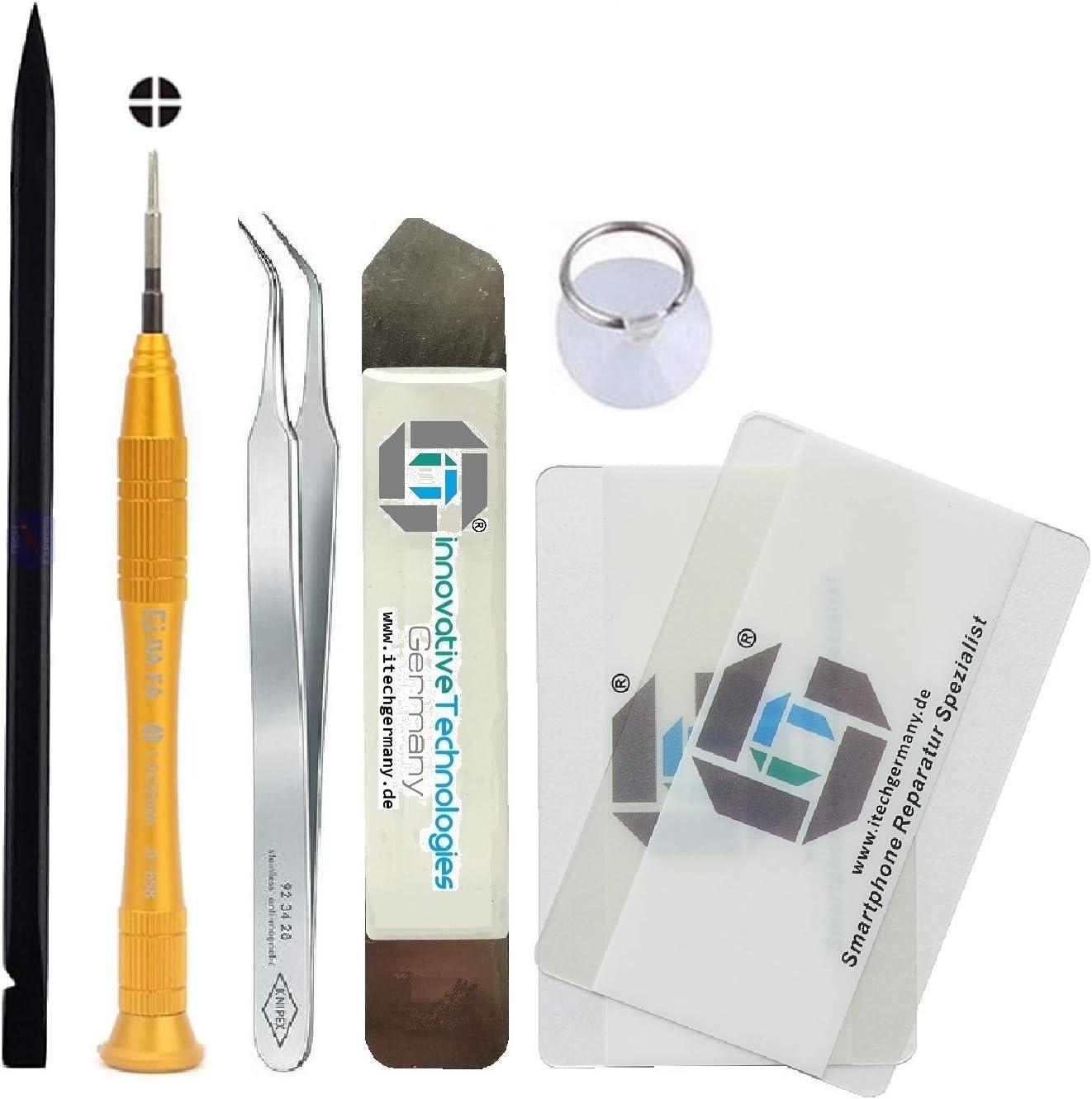 SM-A705F Herramientas Adhesiva 3M iTG/® Juego de reparaci/ón de Pantalla Original para Samsung Galaxy A70 Unidad de Pantalla Original de Samsung 2019 GH82-19747A Service Pack