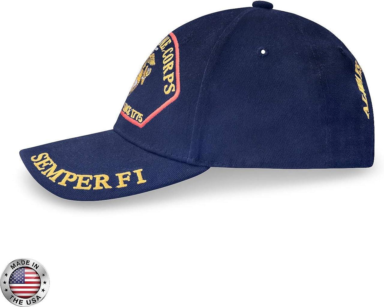 Marines Baseball Cap M/änner Usa Army Cap Military Black Cap Hut F/ür Im Freien Verstellbare Navy Seal Baseball Cap