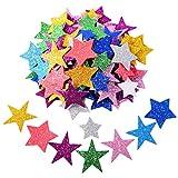 Pegatina de Espuma Brillante de Estrella Autoadhesiva