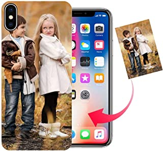Z.Y Design Your Own iPhone 7 Plus Case, Personalized Photo Phone case for iPhone 8 Plus/XS/XS Max/XR Cases - Perfect Custom Case (Black, iPhone 7/8 Plus)