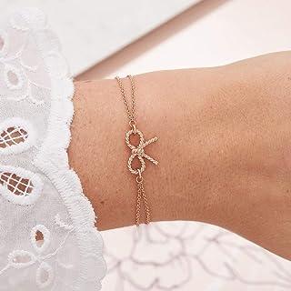 اساور نحاسية مطلي بالذهب الوردي للنساء من اوليفيا بورتون -OBJ16VBB02