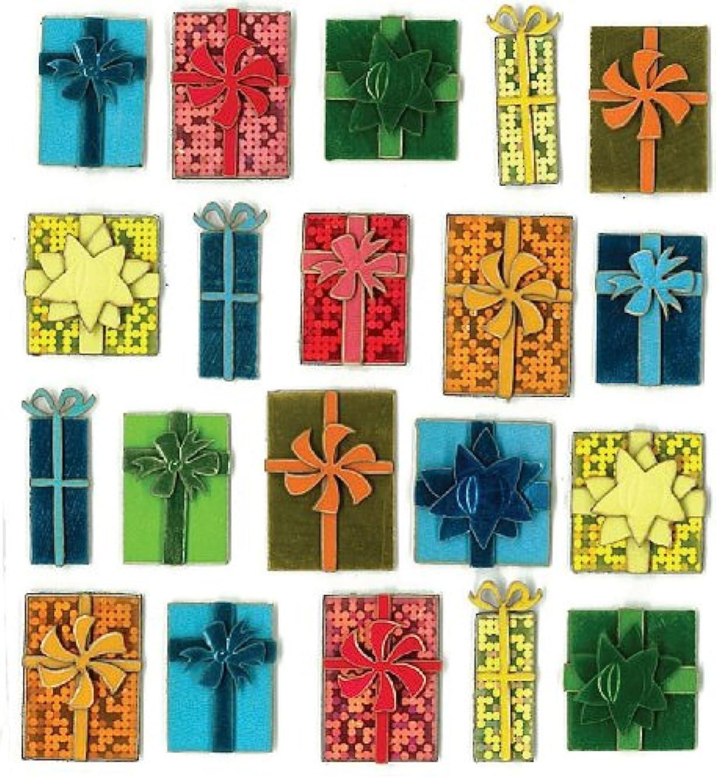 Jolee's Boutique Dimensional Stickers, Multi Size Presents