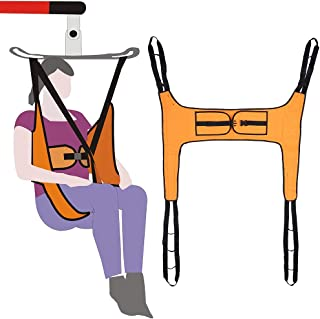 Lift Sling Patient Lifts for Home Use Electric Transfer Belt Toileting Commode Sling Without Head Support Medical Handicap Four Point Sling Large