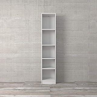 Tvilum Basic Bookcase Cabinet 5 Shelfs, White, 71775 49