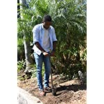 Yard butler bulb and garden planter tulips iris daffodil spring flower long handled planting tool – ibpl-6 10 easy twisting action easy twisting action makes a perfect hole for bulbs and bedding plants. Quickly dig a 6 inch deep, 3 inch wide hole. Long handle prevents excessive bending so you can plant while standing straight, saving you time, and your back. Perfect size holes for planting all kinds of bulbs and bedding plants. Tulips, crocus, dahlias, gladiolus, lilies, or any other spring flower bulbs and most bedding plants are easy to plant at the perfect depth.