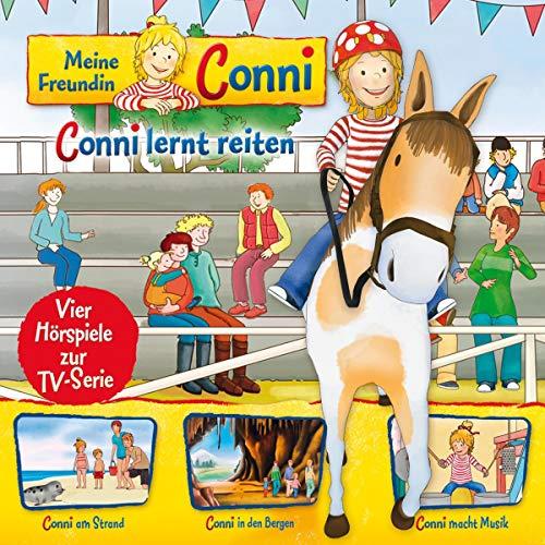 Conni lernt reiten / Conni am Strand / Conni in den Bergen / Conni macht Musik. Vier Hörspiele zur TV-Serie Titelbild