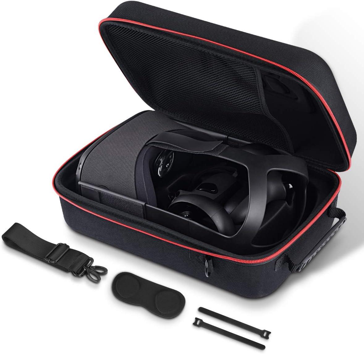 AkoaDa Funda para Oculus Quest 3D VR Virtual Reality Headset//Oculus Quest Eva Hart VR Gaming Gamepad mando a distancia bolsa de viaje