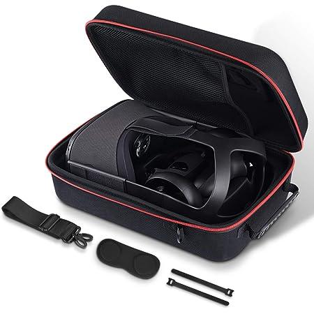 AkoaDa La Caja VR Es Adecuada para La Caja De Hardware De Protección del Controlador De Juego Oculus Quest VR, La Caja De Almacenamiento De Auriculares del Juego VR, La Caja a Prueba De Golpes
