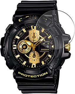 Puccy 3 Pack Tempered Glass Screen Protector Film, compatible with CASIO G-SHOCK GAC-100AC GAC100AC series Protectors for ...