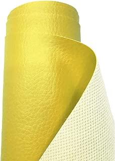 A-Express Tela de grano de cuero de imitación material