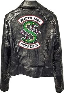 Riverdale Southside serpents gang pour femme Rouge Cole Sprouse cuir perfecto