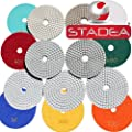 "Parent: Diamond Polishing Pads Wet 4"" STADEA Standard J"