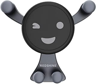 حامل حامل الهاتف المحمول REDSHINE للسيارة بقفل تلقائي عالمي منفذ هواء GPS للسيارة لهاتف iPhone X/8/7P/6s/6P/5S, Galaxy S5/...