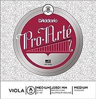 D'Addario ダダリオ ヴィオラ用 バラ弦 Pro Arte A-String Medium Scale J5801 MM Medium Tension 【国内正規品】
