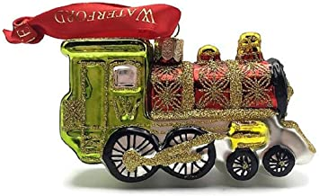 Waterford Holiday Heirlooms Christmas Train Engine Ornament