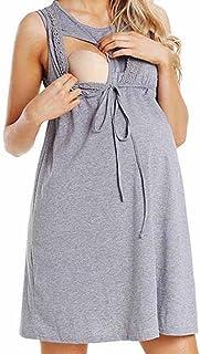 Amazon.es: camison embarazada encaje