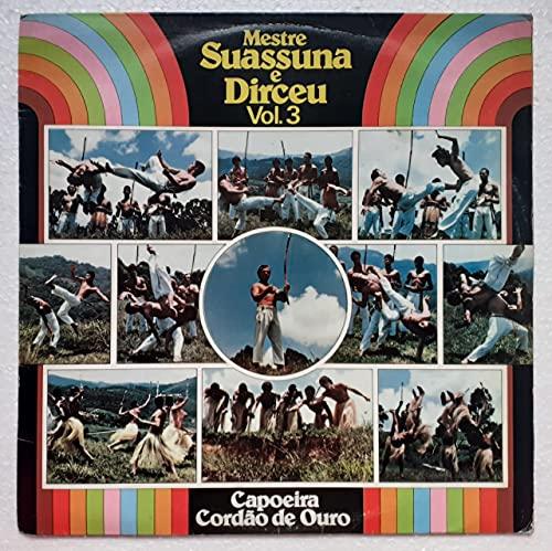 Lp Capoeira Cordão de Ouro Mestre Suassuna e Dirceu Vol 3 - 1983
