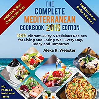The Complete Mediterranean Cookbook 2019 Edition cover art