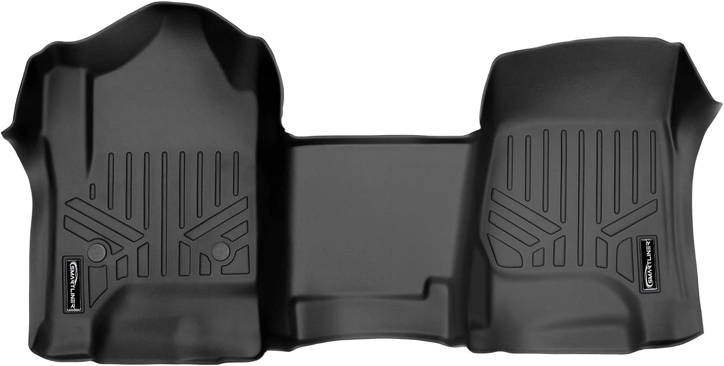 MAXLINER Floor Mats 1st Row One 14-18 for Opening large release gift sale Silv Liner Black Piece