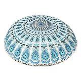 maniona 32 'azul Mandala suelo almohada cojín de meditación asiento manta cover...