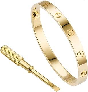 Best cartier love bracelet gold screw Reviews
