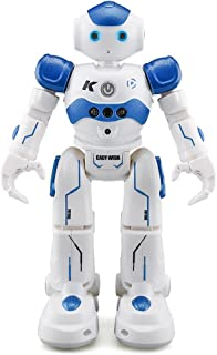 Transformer Toy Kid Robot Walking Talking Dancing Singing - Intelligent Smart Gesture Controlled Programmable Toy in Blue
