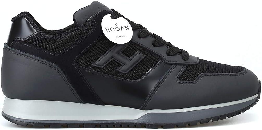 Amazon.com | Hogan Black H 3D H321 Sneakers | Shoes