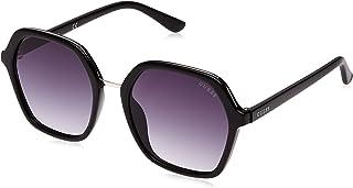 نظارات شمسية بتصميم سداسي من جس للنساء - عدسة متدرجة ، GU7557-01B - مقاس 54
