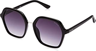Guess Hexagonal Sunglasses for Women - Gradient Smoke Lens, GU7557-01B - Size 54