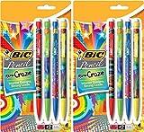 BIC Lápiz Xtra Craze (42843), 0,9mm, 6paquetes (Juego de 2unidades)
