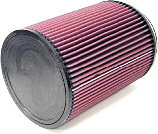 K&N Universal Clamp-On Air Filter: High Performance, Premium, Washable, Replacement Engine Filter: Flange Diameter: 6 In, Filter Height: 10 In, Flange Length: 1 In, Shape: Round, RU-3270