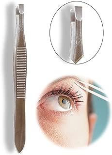 Color Fever Slant Tip Tweezer for Eyebrows/Facial Hair/Upper Lip Pro Grooming Tools