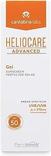 Heliocare Advanced Gel SPF 50 - Crema Solar Corporal, Textura Gel, Ligera, Rápida Absorción, Sin Efecto Blanqueante, Antioxidante, Todo Tipo de Piel, 200ml