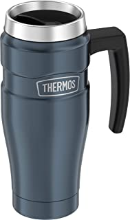 Thermos Stainless King 16-Ounce Travel Mug with Handle,...