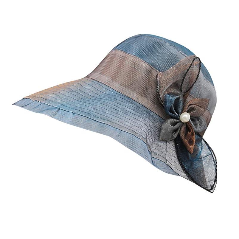 芸術的誰か金属ハット レディース UVカット 帽子 レディース 日よけ 帽子 レディース つば広 無地 洗える 紫外線対策 ハット カジュアル 旅行用 日よけ 夏季 女優帽 小顔効果抜群 可愛い 夏季 海 旅行 ROSE ROMAN