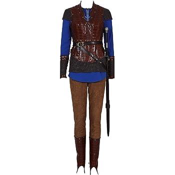Bilicos Viking Queen Lagertha Traje de Cosplay Disfraz Hombres ...