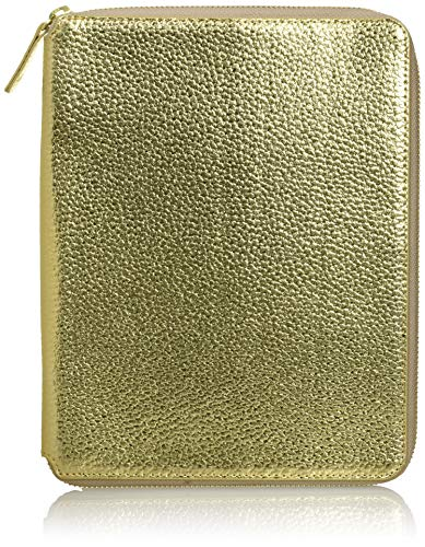 ラコニック 手帳カバー A5 合皮 ゴールド LDC03-370GD