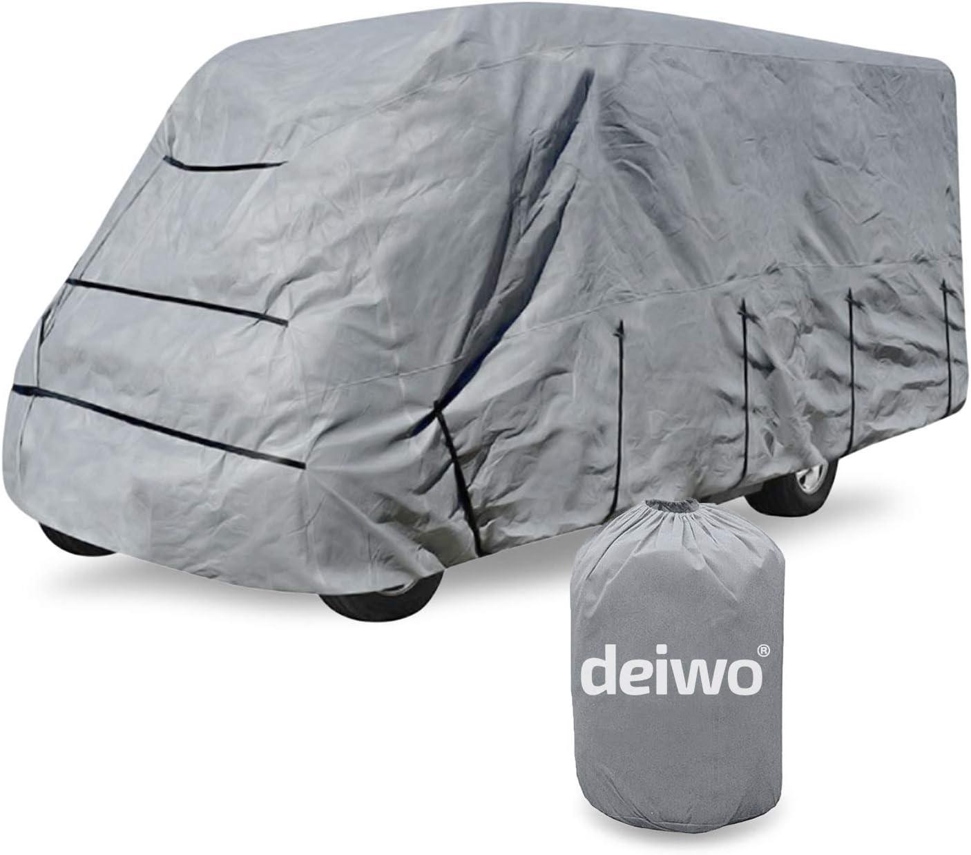 Deiwo Wohnmobil Schutzhülle 235 X 600 X 270 Cm 3 Schicht 160g Quadratmeter Auto