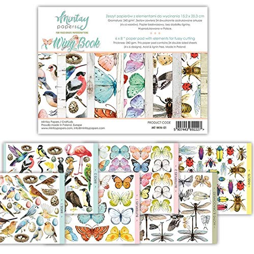 """MTY Paper Pad 6""""x8"""" - Wing Book"""